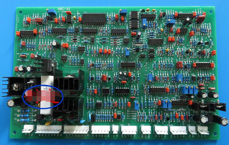 MIG welding machine pcb control board MIG350/500 welding circuit board welder mig series driver board dual purpose mig/mma pcb(China (Mainland))