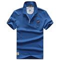 AFS JEEP T shirts Men Cotton Short Sleeve turn down collar Tshirts 2017 New Fashion Summer