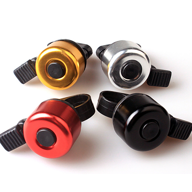 Inbike ai005 multicolour bell bicycle aluminum alloy bell three-color ride