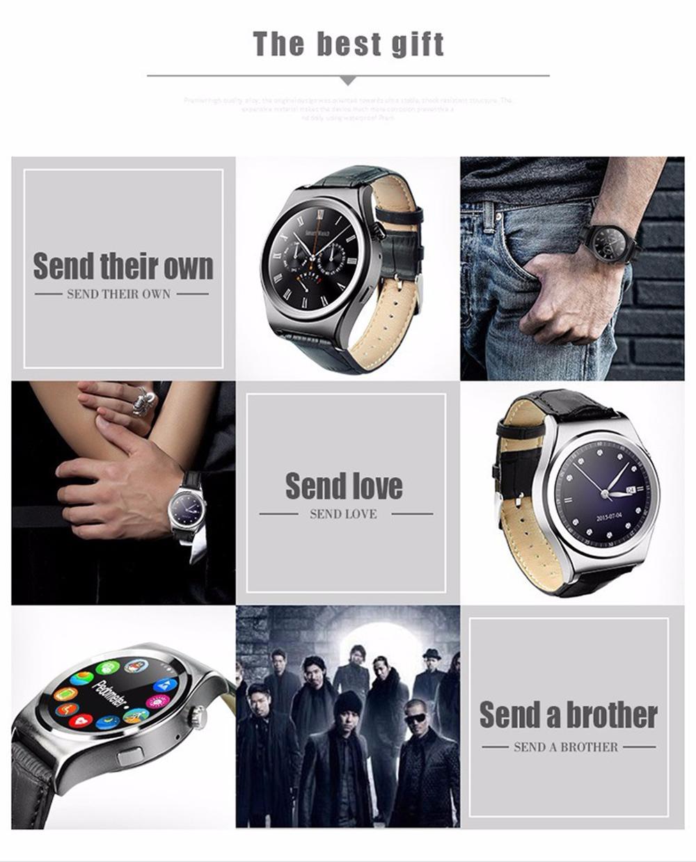 ALANTURING Bluetooth fashion Smart Watch SW15 fitness active tracker sleep hear rate monitor anti lost smart bracelet band