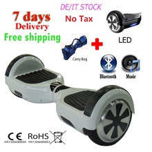 Buy Free 6.5 inch self balancing scooter electric scooter hoverboard skateboard bluetooth two wheel smart balance scooter for $216.98 in AliExpress store