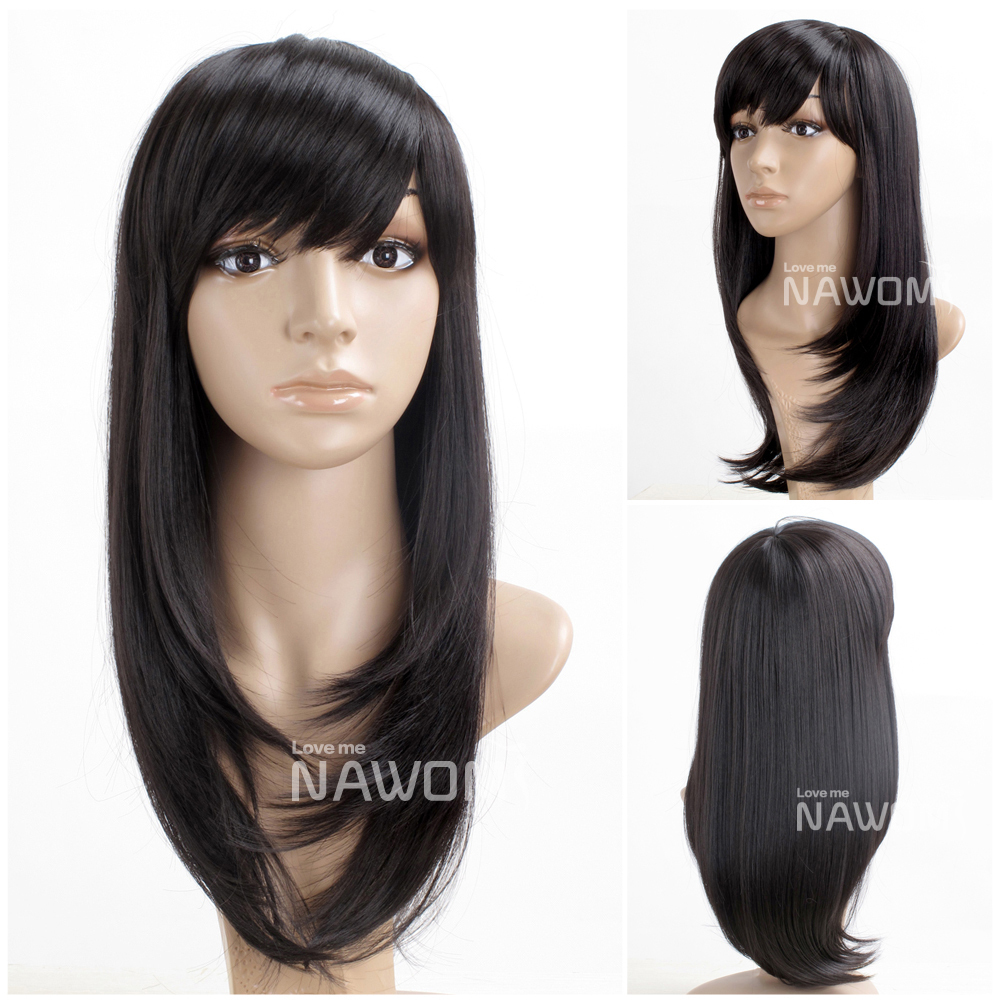 style stright hair wigs / black wigs from Reliable wigs and hair ...