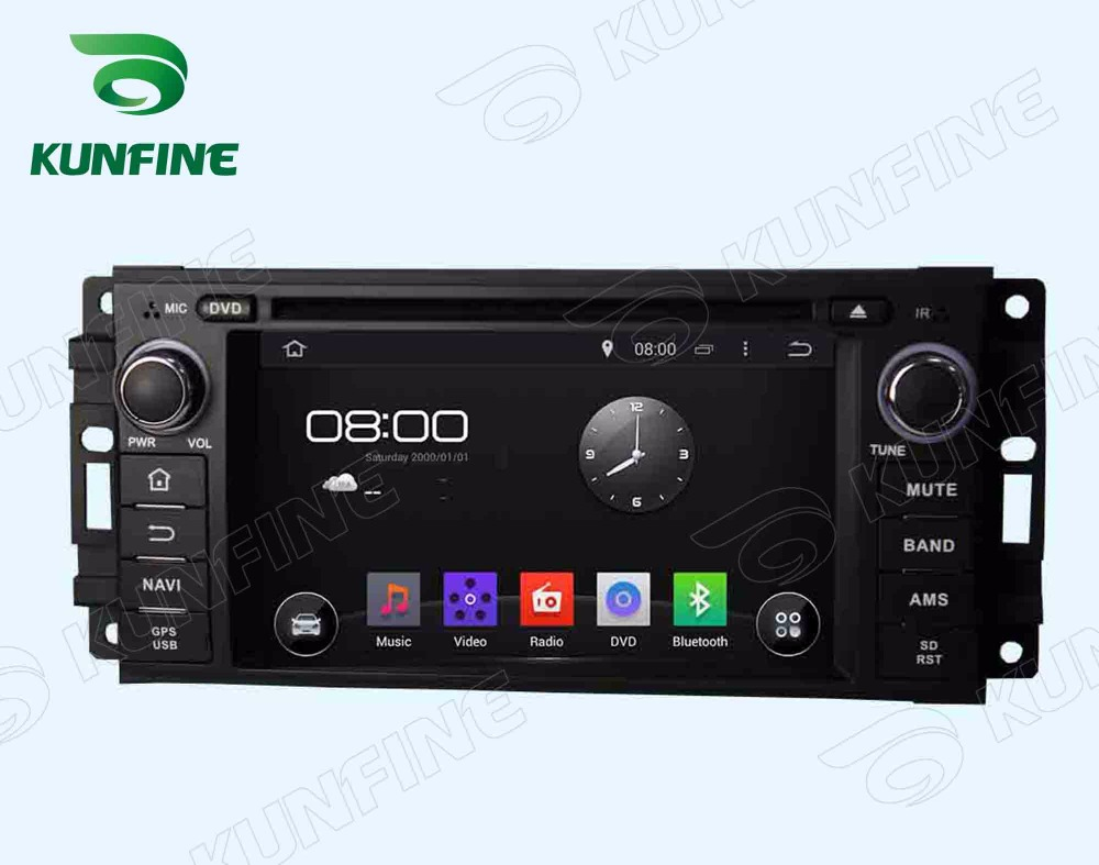 Car dvd GPS Navigation player for Chrysler 300C Dodge Jeep2005-2007   6.2 inch A