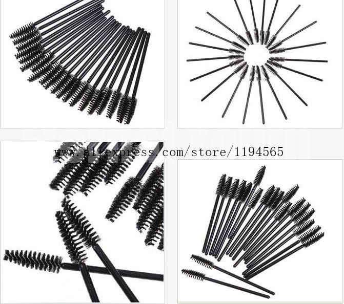New Arrival 500pcs One-Off Disposable Eyelash Brush Mascara Applicator Wand makeup Brushes Eyes Care Make Up Styling Tools<br><br>Aliexpress
