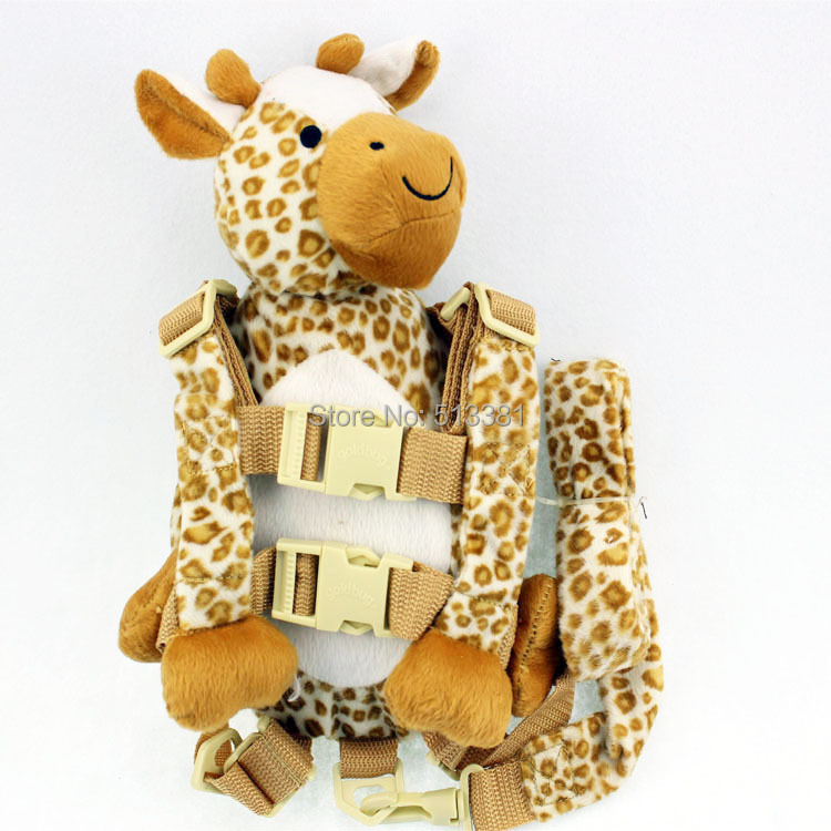 Free Shipping Goldbug 2 in 1 Harness Buddy Original 13 designs Baby Harness Backpacks with Safty Straps Toddler Fun Backpack Toy