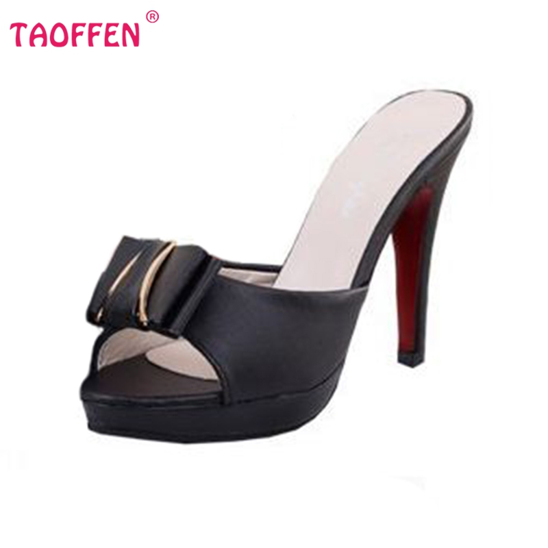 fashion open toe high heels sandals bowknot