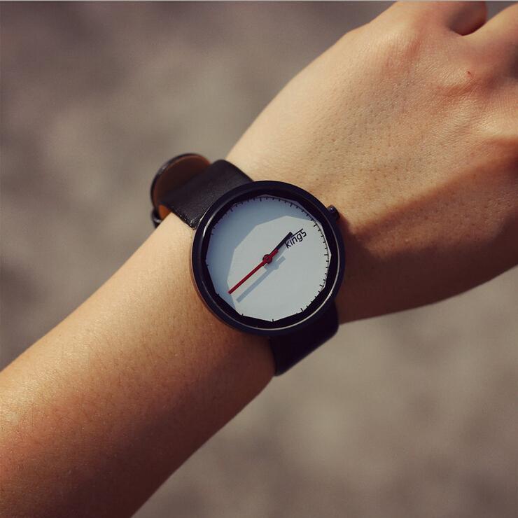 Lovers Quartz Watch Women Men Wrist Watches Ladies Leather Wristwatch Fashion Quartz-Watch Female Clock Relogio Feminino AZ074<br><br>Aliexpress