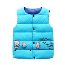 Trẻ em Bé Gái Áo Vest Áo Khoác HOODIE THU ĐÔNG hoạt hình Quần Lót trẻ em áo vest cho bé trai Bé Áo Khoác Ngoài Áo Khoác quần áo bé gái(China)
