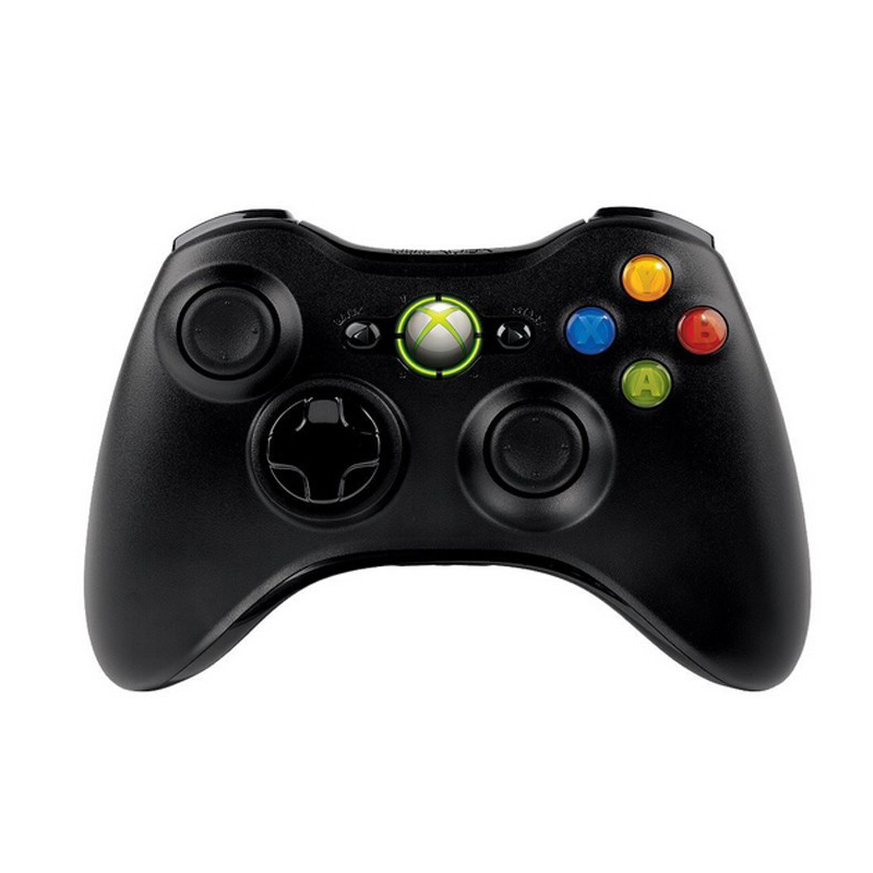 Hot Sale High Quality Wireless Controller For Microsoft XBOX 360 Gamepad Joystick - Glossy Black(China (Mainland))
