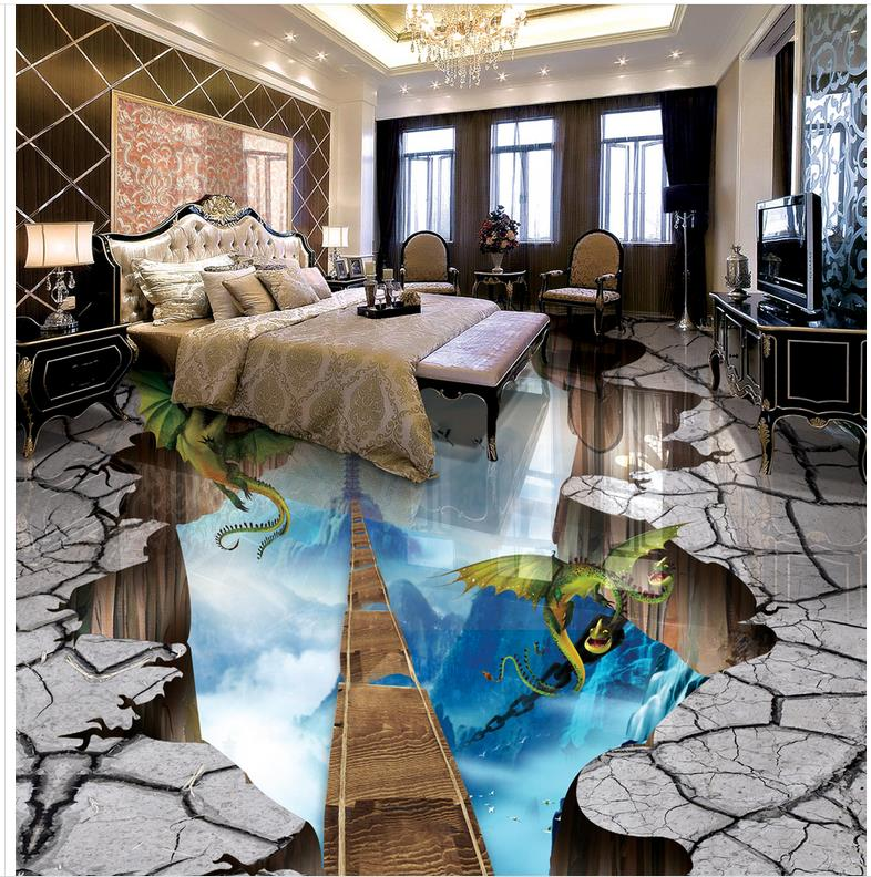 Buy 3d wall murals wallpaper floor ladder for Floor 3d wallpaper