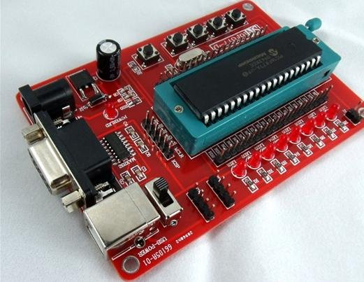 New PIC Development Board for PIC16F877 PIC16F877A(China (Mainland))