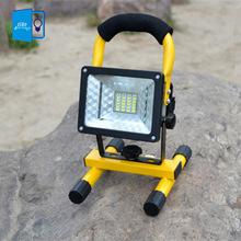 [ DBF ] a prueba de agua IP65 SMD3528 24LED 5 modelos 30 W llevó la luz de inundación proyectores portátiles exterior recargable del trabajo del LED luz de emergencia(China (Mainland))