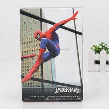 O Avenger infinito guerra Spider-man spiderman Superhero spider man criador x criador PVC Toy Action Figure(China)