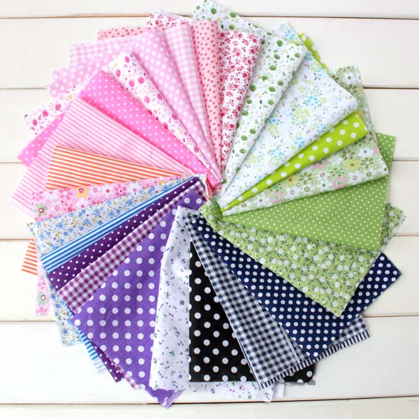 Buy 10 Get 1 Free! Handmade Craft Cotton Fabric Colletion/Size: 16*25cm/No Repeat in 20 Series/sewing/Quilting Cloth(China (Mainland))
