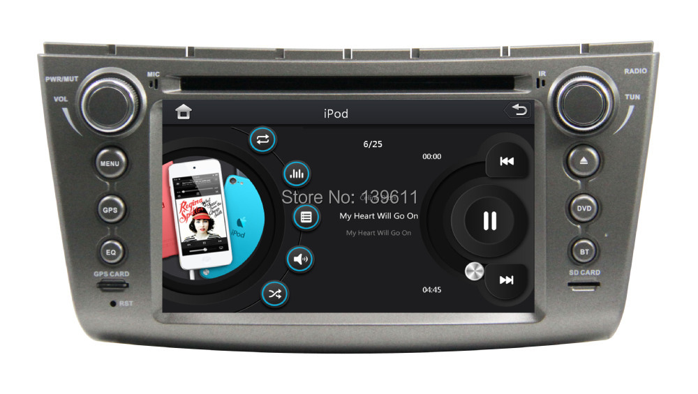 ZESTECH 7 inch Touch Screen 2 Din Special Car Audio Navigation for LOTUS Car Audio Navigation with GPS/WIFI/RDS/TV +factory(China (Mainland))