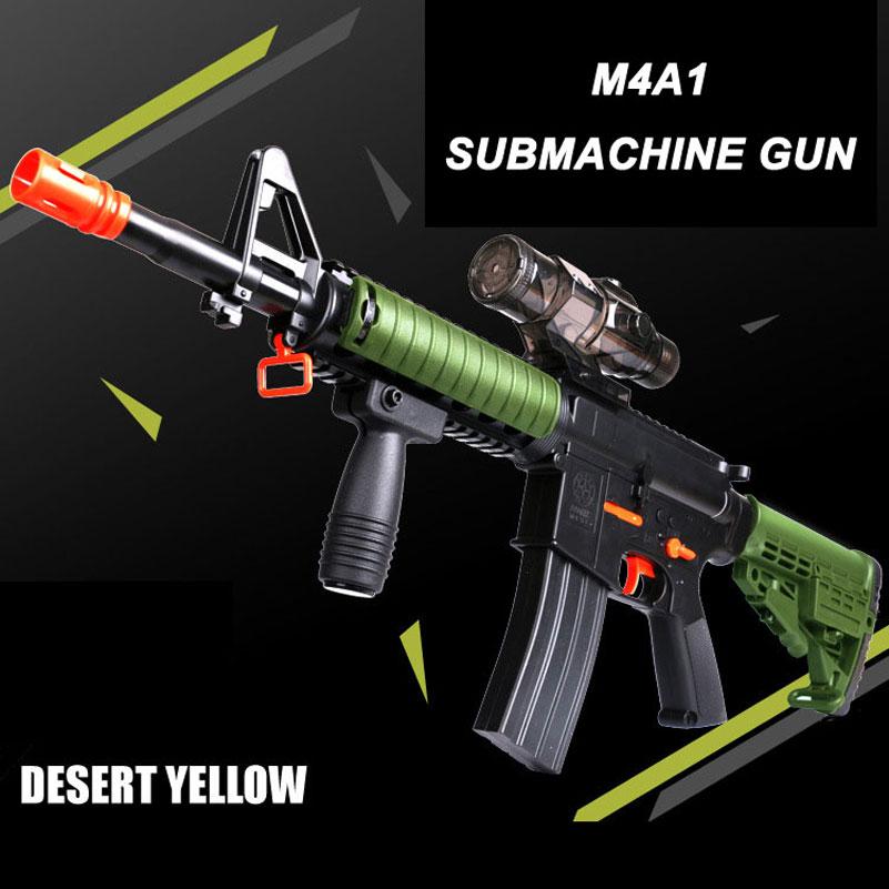 M4A1 Paintball Gun Submachine Toy Gun Airsoft Sniper Rifle Arma Orbeez Toys Desert Eagle Kids Toys Sports Game Shooting Pistol(China (Mainland))