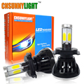 CNSUNNYLIGHT COB LED Car Headlight Kit H4 H7 H11 H8 9005 HB3 9006 HB4 H13 40W