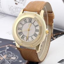 New Fashion 4 Colors Ladies Roman numerals Rhinestone Dial Watches Women Dress Quartz Wrist watch Hours