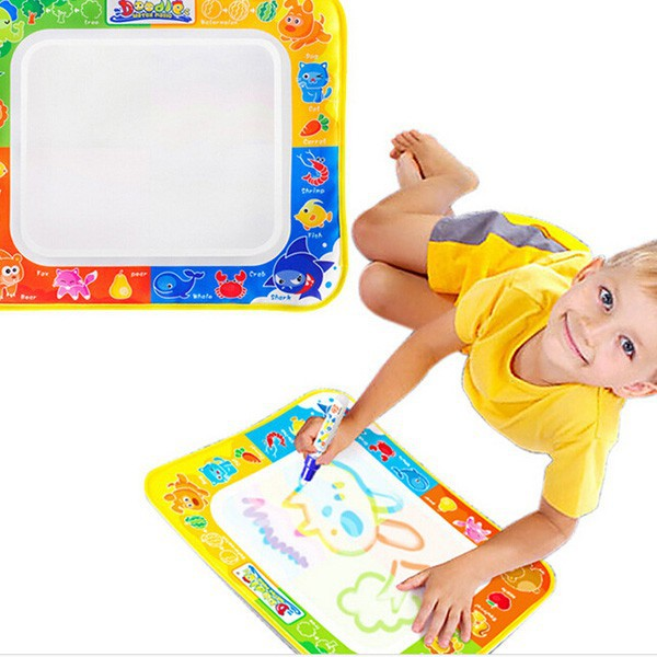 Water Magic Magical Aquadoodle Color Painting Drawing Mat Board Blanket with Pen Educational Toys For Children Intelligence(China (Mainland))