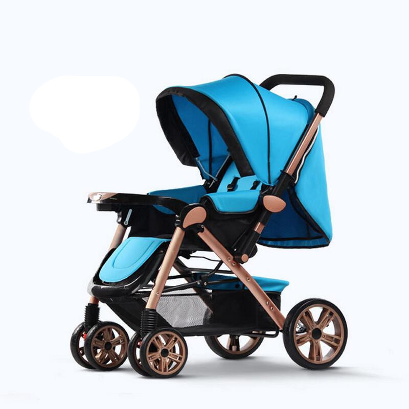 Ultra Light Four Wheel Baby Carriage,Fashion Protable Baby Stroller Folding Car Carriage Buggy,Lightweight Pushchair Baby Prams<br><br>Aliexpress