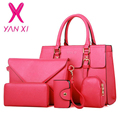 YANXI 2016 New Woman Handbag PU Leather Shoulder Bags Lady Handbag Messenger Bag Purse Card Bag