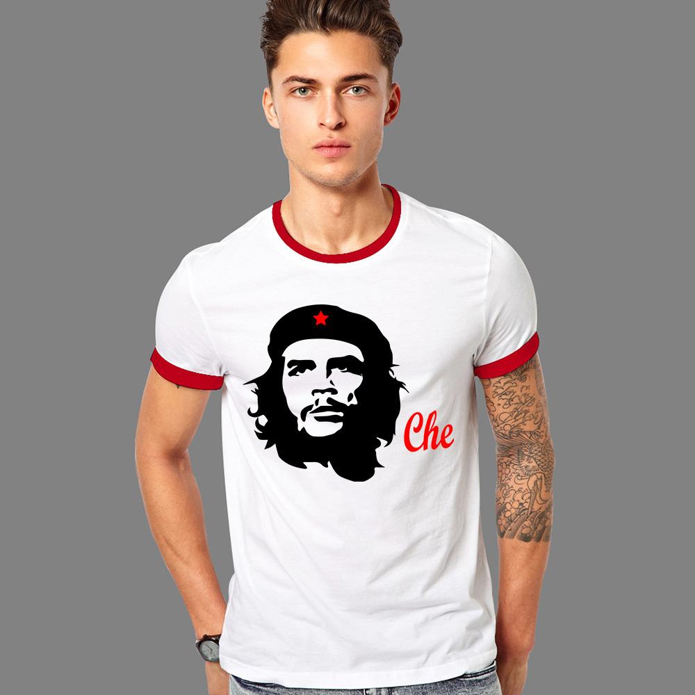 Summer New Camisetas Che Guevara T Shirts Men Cuba