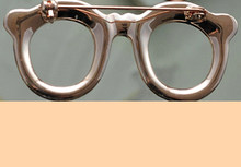 Jackstraw gioielli Carino fancy spilla di strass occhiali holder pin gioielli fatti a mano spilla spille all'ingrosso per le donne(China)