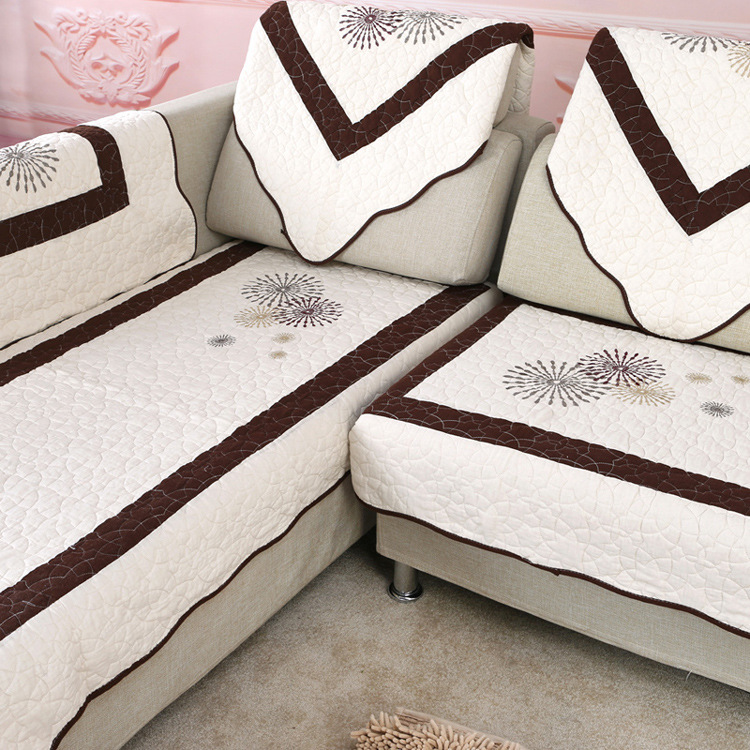 sofa cloth fabric flower sectional sofa towel set sofa couch covers for home textile corner sofa cover slipcover(China (Mainland))