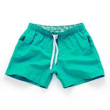 Aimpact de secado rápido pantalones cortos de los hombres de verano Casual activo Sexy BeachSurf Swimi pantalones cortos atleta hombre Gymi casa híbrido troncos PF55(China)