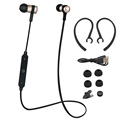 S6 1 Sport Wireless Bluetooth 4 1 Earphone Stereo Metal Headset Microphone For IPhone 7 6