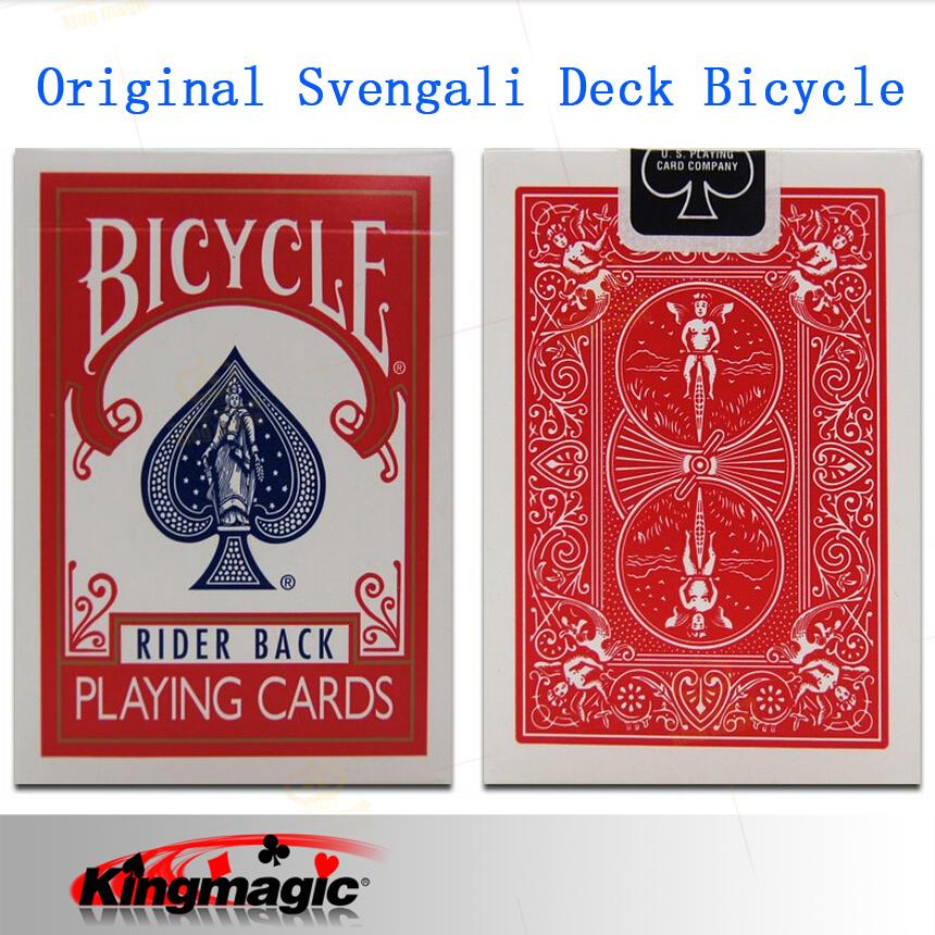 Original Svengali Deck Bicycle Card Magic, Magic Trick (Blue & Red Available)(China (Mainland))