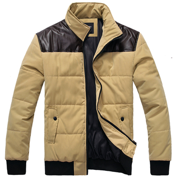 hot sale coat men trench winter jacket Autumn and Winter Fashion Mens Cotton Jacket