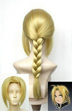 song wig.00351 Japan Animation Art Fullmetal Alchemist Edward Elric's cosplay wig wigs