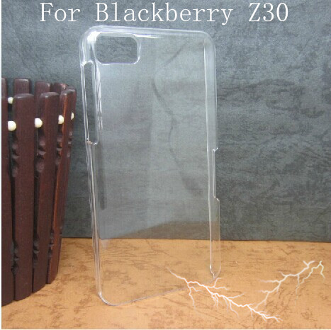 Crystal Clear Slim Ultra Thin Transparent Hard Case Cover Skin For Blackberry Z30(China (Mainland))