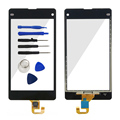 A For Sony Xperia Z1 Mini Compact D5503 Out Front Glass Lens Touch Screen Digitizer No