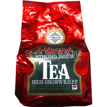 Гаджет  Pure organic Sri lanka Ceylon black tea, mlesna strong brew BOPF black tea for milk tea 500g None Еда
