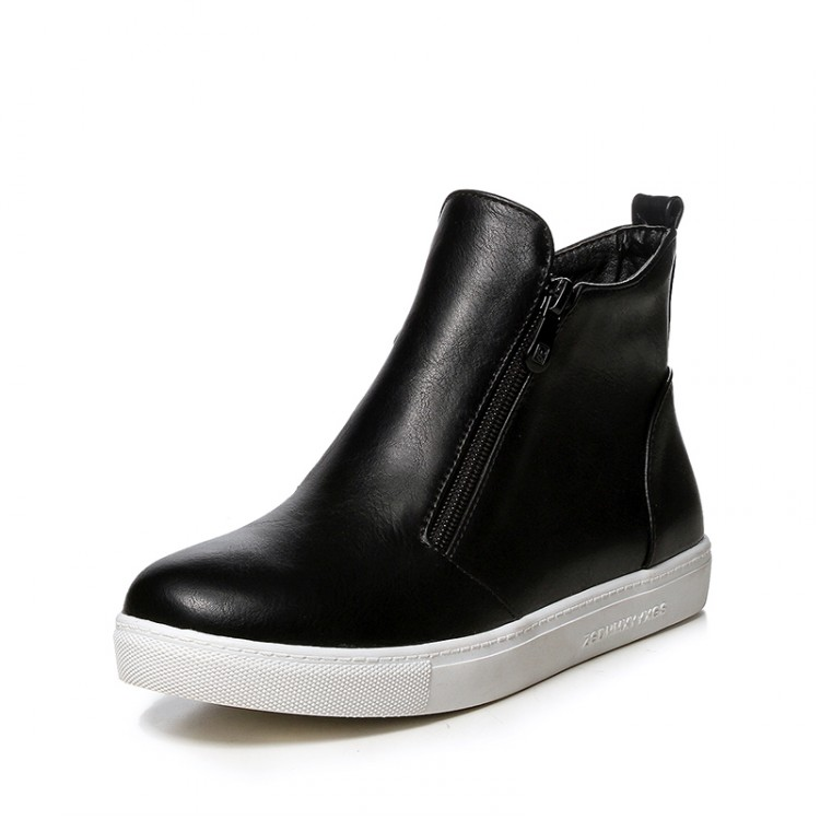 boots 2015 winter fashion ankle boots soft leather