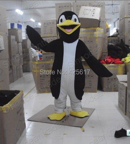 Factory direct!New yellow mouth handsome Penguin Cartoon Fancy Dress Suit Outfit Animal Mascot Costume - Sam's World store