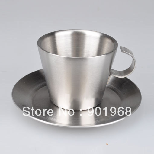 Satin L size Cone-shape-coffee cup set-coffee ware-coffee mug