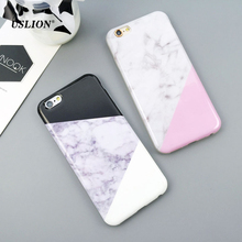 Buy USLION Luxury IMD Marble Phone Case iPhone 7 5 5s SE 6 6s PlusSplice Soft TPU Cover Back Cases Capa iPhone 7Plus for $1.37 in AliExpress store