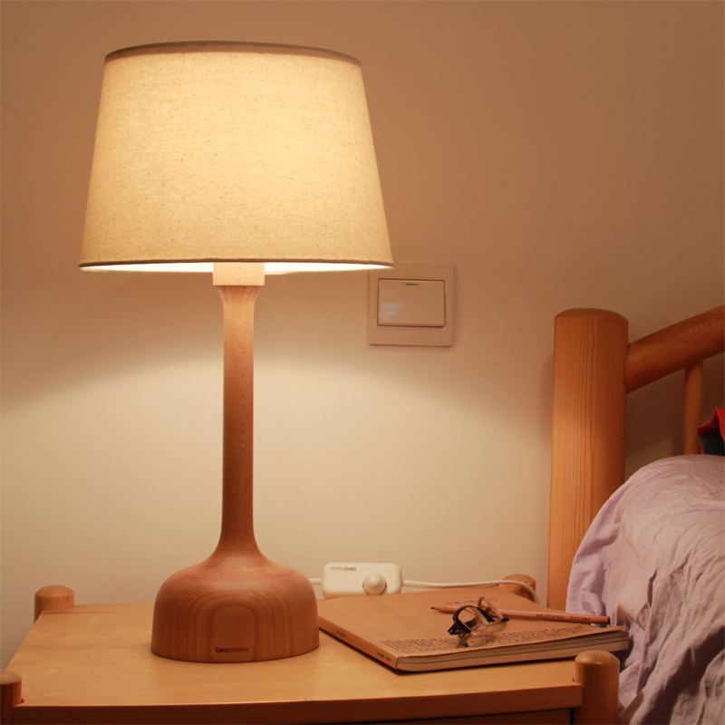 Beladesign Modern Wooden Lamp Led Fancy Table Lamp Small