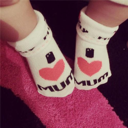 1 пара каваи симпатичные мягкие новорожденный малыш носки хлопок круто-устойчивых ...