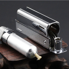 Brand metal case new charging USB electronic cigarette lighter,environmentally Oriental Pearl Tower lighters of men, men's gifts