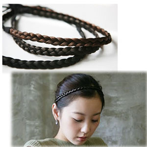 2016  Artificial Headbands Twisted Braid Rope Ring For Hair Wedding Accessories H053