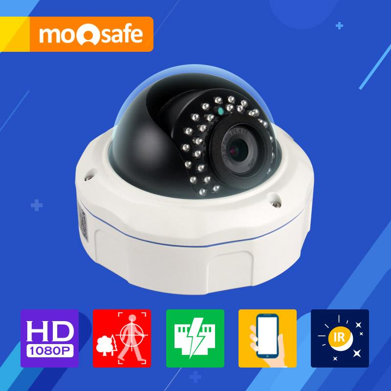 Mosafe 2.0M POE Camera 1920*1080P Power Over Ethernet outdoor 30pcs LED IR night vision waterproof Video Surveillance Cameras(China (Mainland))