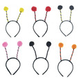 7 colors Children Adult Ant Fly Ladybug Headband Antenna Bug Bee Headband Costume Party Halloween Christmas