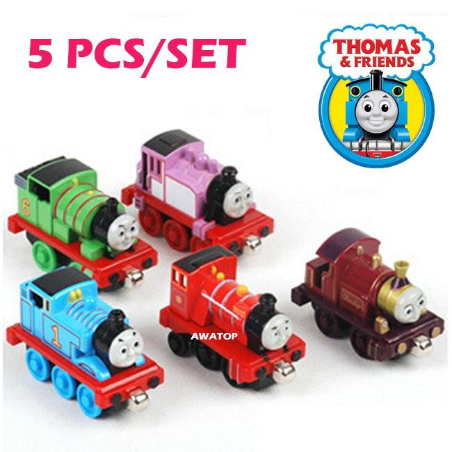 Гаджет  5PCS/set  thomas and friends trains LADY ROISE THOMAS MIKE PERCY kids toys None Игрушки и Хобби