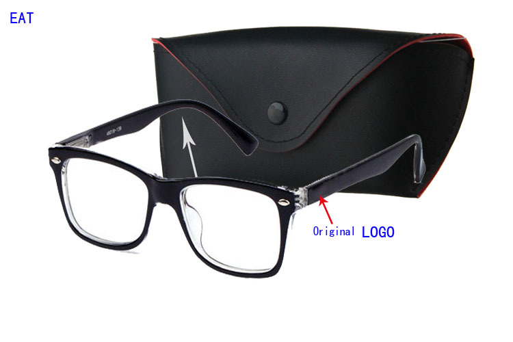2015new RB High quality branded optical eyeglasses frames vintage glasses clear lens reading eyewear Send leather glasses box(China (Mainland))