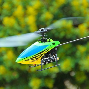 Фотография Free shipping MJX newest design 4ch flybarless Aileronless rc remote control helicopter F48 with gyro can take brushless motor