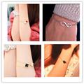 L077 Hot New 2015 Cheap Official Men Bijoux 8 Infinity Heart Bracelet For Women Jewelry Accessories